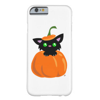 Cat in the Pumpkin Smart Phone Case