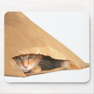 Cat in the sack mousepad