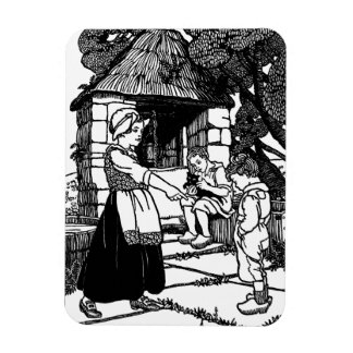 Cat in the Well Nursery Rhyme Magnet