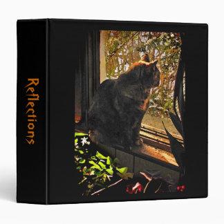 Cat in the Window Binder