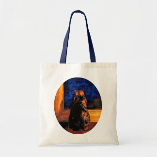 Cat in the Window Budget Tote Bag