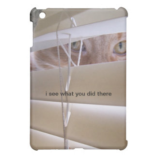 Cat in the Window - I see what you did there. Case For The iPad Mini