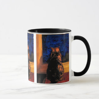 Cat in the Window Mug