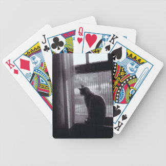 Cat in the Window Playing Cards