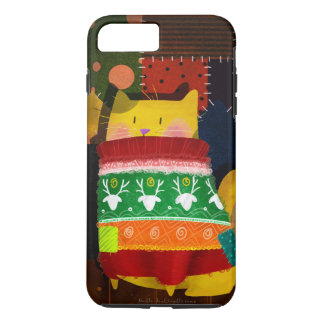 """""""Cat in Ugly Sweater"""" iPhone 7 Plus Case"""