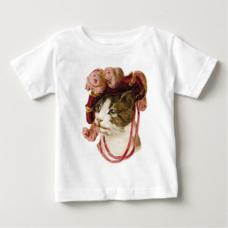 Cat in Victorian Hat Infant T-shirt