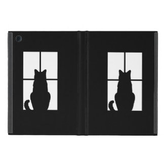 Cat in Window Customize Color Decor if Desired Cover For iPad Mini