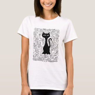 Cat in you curve T-Shirt