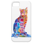 Cat iPhone Cases Vibrant Colors iPhone 5 Covers