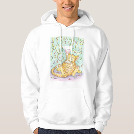 CAT is a party animal. Hoodie
