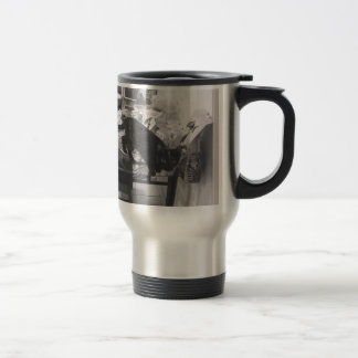 Cat is caught guilty travel mug