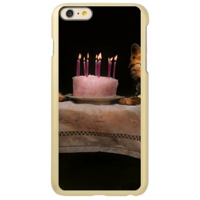Cat - It's our birthday - 1914 Incipio Feather® Shine iPhone 6 Plus Case
