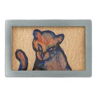 Cat-itude Cat Art Catness Attitude of Cats Belt Buckle