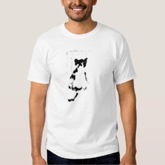 CAT JAIL BASIC WHITE TEE SHIRT