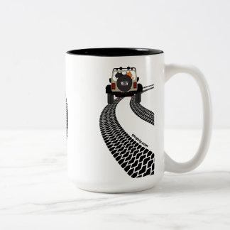 Cat Jeep Mug