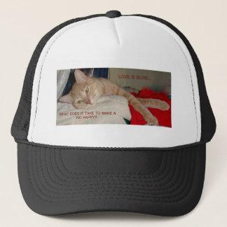 CAT JOKES TRUCKER HAT