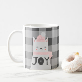 Cat, Joy, Winter, Christmas Coffee Mug