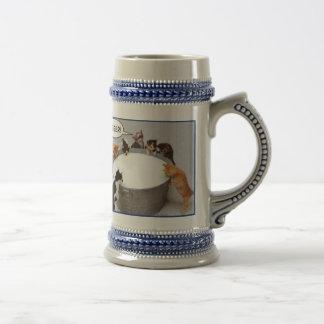 Cat Kegger Mug