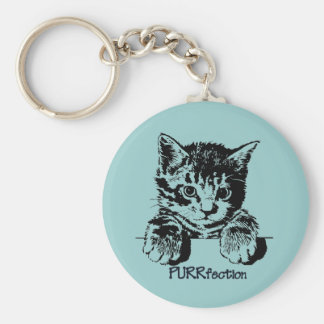 Cat Keychain Purrfection