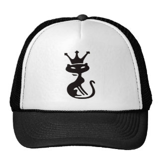 Cat King Trucker Hat