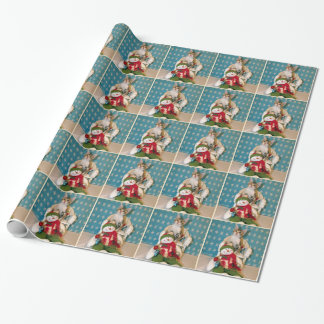 Cat, Kitten, Christmas, Rescue, Photo Wrapping Paper