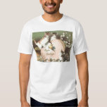 Cat Kitten Easter Colored Painted Egg Chick Shirt