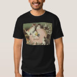 Cat Kitten Easter Colored Painted Egg Chick Tee Shirt
