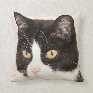 Cat, Kitten, Kitty Face Throw Pillow