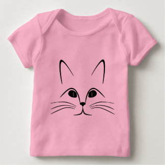 Cat Kitten Pet Animal Eyes Destiny Destiny'S Baby T-Shirt