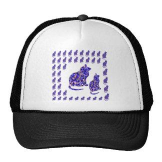 Cat Kittens KIDS Love Template Greetings Gifts FUN Trucker Hat