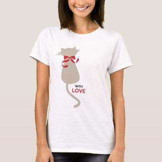 Cat Kitty Couple Women's Basic T-Shirt