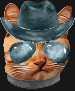 061d5879 Cowboy Cat T-Shirts - T-Shirt Design & Printing | Zazzle