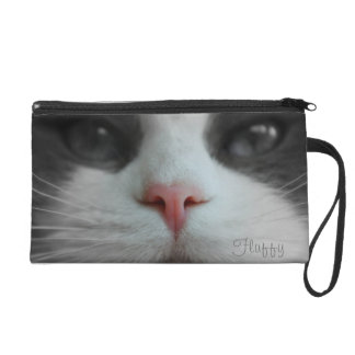 Cat Kitty Kitten Nose Name Purse Custom Your Pic