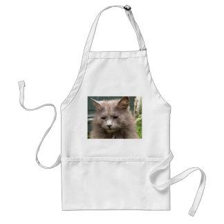 Cat 'Kyra' portrait Adult Apron