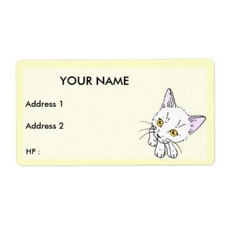 Cat , Label