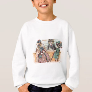 Cat Ladies Shopping Sweatshirt
