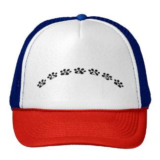 Cat Lady Black Paws Trucker Hat