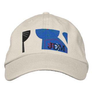 Cat Lady Cute Cats Embroidered Baseball Cap