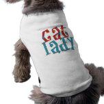 Cat Lady Doggie T-shirt