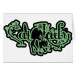 Cat Lady Green Card