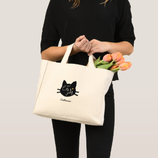 Cat Lady Mini Tote Bag