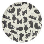 Cat Lady Plate Dinner Plates