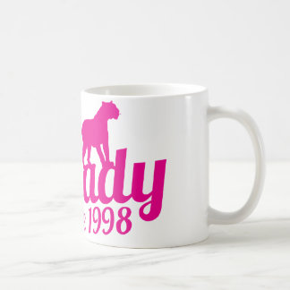 cat lady since 1998 coffee mug