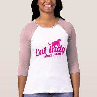 cat lady since 1998 T-Shirt