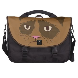 Cat Laptop Messenger Bag