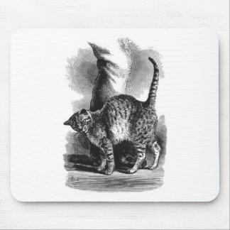 Cat Leg Rub Artwork Mouse Pad