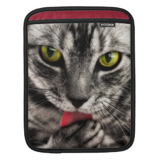 Cat Lick iPad Sleeve