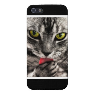 Cat Lick iPhone SE/5/5s Case