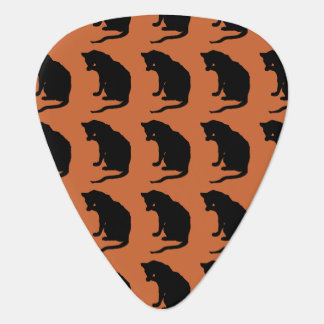 Cat Licking Paw 2 sided. Guitar Pick
