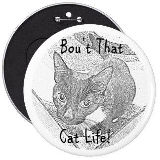 Cat Life Button
